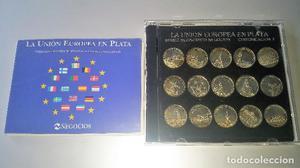 Medallas acuñadas en plata de ley. Colección La Unión