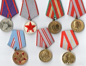 Medallas conmemorativas del  y 70
