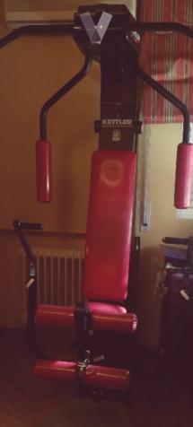 Máquina de gimnasia espectacular.
