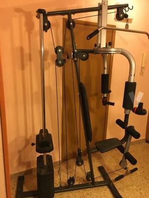 Máquina musculación pesas