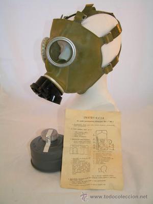 Máscara de gas POLACA MC-1