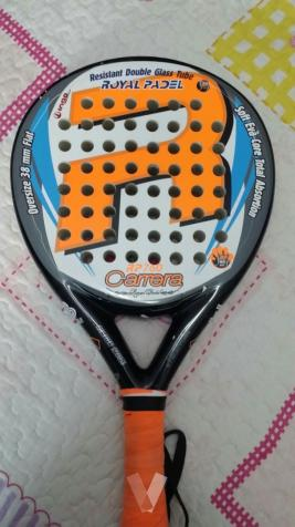 PALA ROYAL PADEL + FUNDA DUNLOP DOBLE