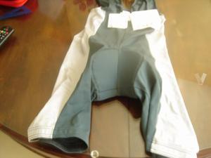 Pantalón con protecciones ciclista