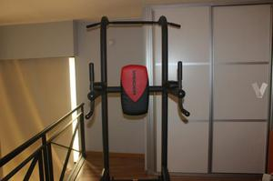 Power tower Weider. Torre dominadas - dips.