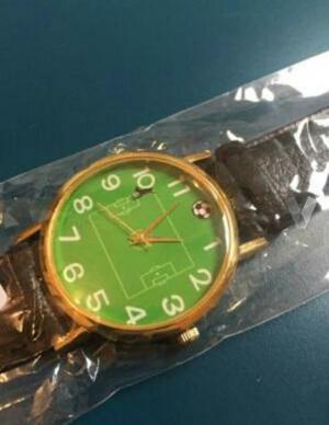 Reloj campo de fútbol