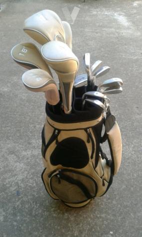 Set de palos de golf para mujer