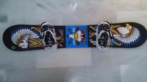 Tabla Snowboard GNU Kass 153 + Fijaciones Burton