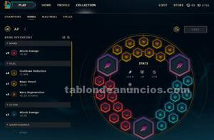 Vendo cuenta oro 2 de league of legends