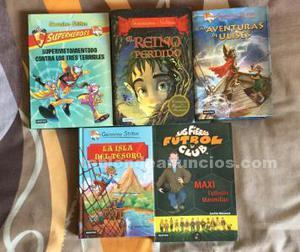 Vendo libros infantiles gerónimo stilton