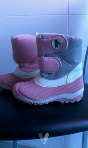 botas de nieve para niña 29.