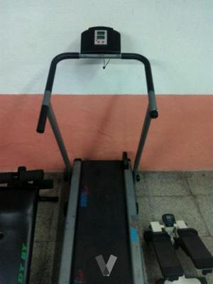 cinta de para andar, tabla abdominales y pedales
