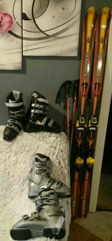 equipo de esquí para mujer