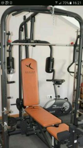 maquina de pesas Domyos Bm 900