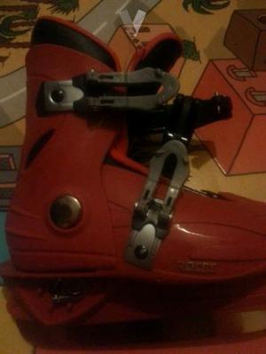 patines de hielo extensible y de regalo