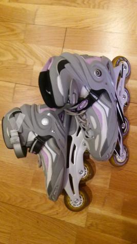 patines de lineas con protecciones