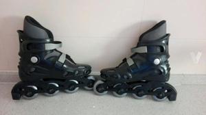 patines en linea talla 40 puesto 2 veces
