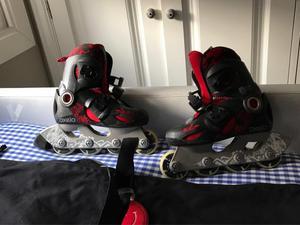 patines niño de línea talla