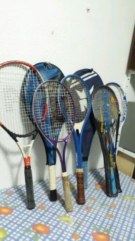raquetas en perfecto estado