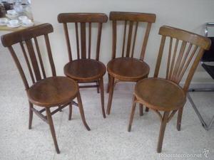 Oferta se venden 2 sillas antiguas girona empuribrava - Sillas de madera antiguas ...