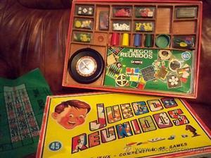 Antígua caja de Juegos Reunidos Geyper de 45 juegos - la