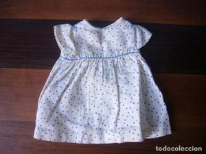 Antiguo vestidito para muñeca antigua de 30 o 35 cm