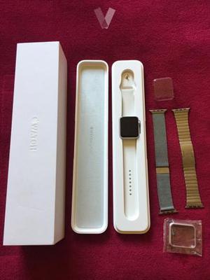 Apple Watch 42mm color plata