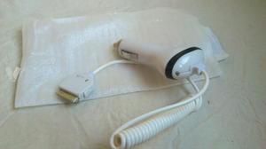 CARGADOR COCHE IPHONE 3G, 4,+funda piel