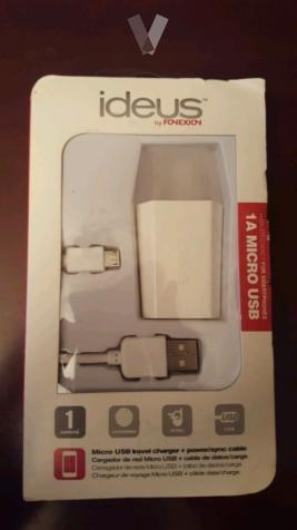 Cargador Micro USB + cable de carga