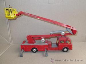 Corgi Major Toys Camión Grua Bomberos Simon Snorkel