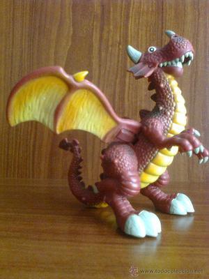 Dragón articulado Mattel - Mecanismo de Alas móviles - 22