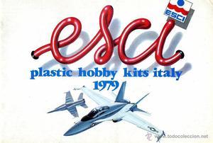 Esci. Plastic hobby kits itali . Conserva las pegatinas