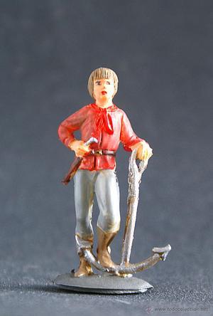Figura de los piratas de Pech, en muy buen estado.