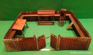 Playmobil copia instrucciones montaje fuerte fort posot - Pegamento fuerte para madera ...