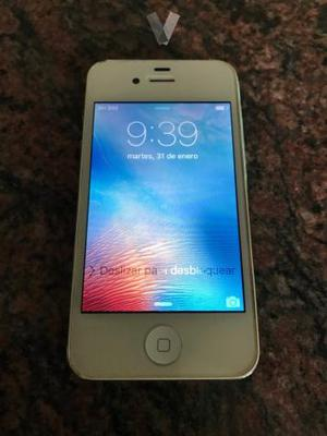 IPhone 4s Blanco 16 GB. Libre