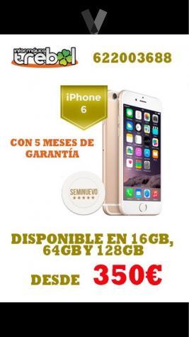 IPhone 6 16Gb, 64Gb y 128Gb