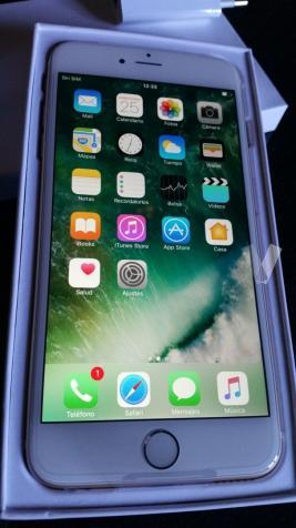 IPhone 6 Plus 16gb Gold NUEVO en Garantía