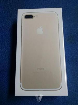 IPhone 7 plus 128gb Dorado Precintado