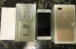Iphone 7 plus Gold Completamente Nuevo!