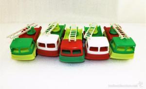 Lote de 5 camiones Kiosco