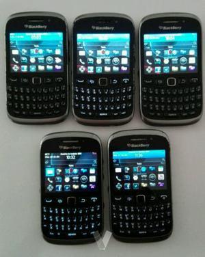 Lote de 5 moviles Blackberry  libres