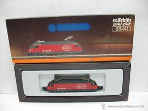 Marklin mini-club Ref:  -Locomotora eléctrica de la