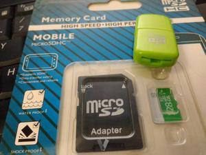 Micro SD's de  y 512 Gb