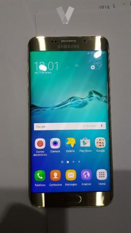 Móvil Samsung S6 Edge+ dorado 64 gb libre