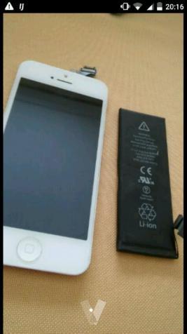 Piezas iPhone 5