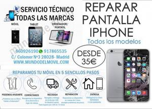 REPARACION DE MOVILES IPHONE