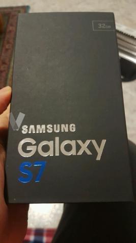 Samsung s7 a estrenar, precintado