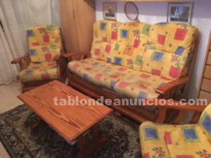 Se vende sofa + sillones