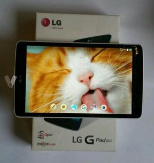 Tablet LG G PAD 8 con táctil roto