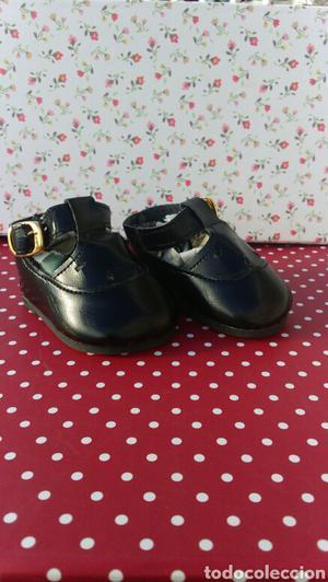 Zapatos muñeca negros