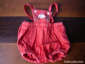 antiguo bombacho para muñecos bebé de 30 o 35 cm